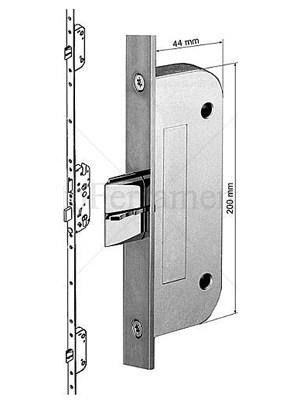 serratura sicurezza MAICO con 3 scrocchi per porte finestre speciali