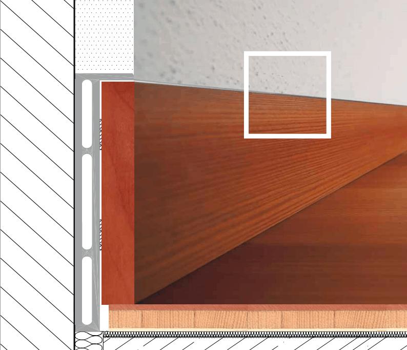 Battiscopa filo muro per chi ama l effetto raso muro lo for Battiscopa filo muro