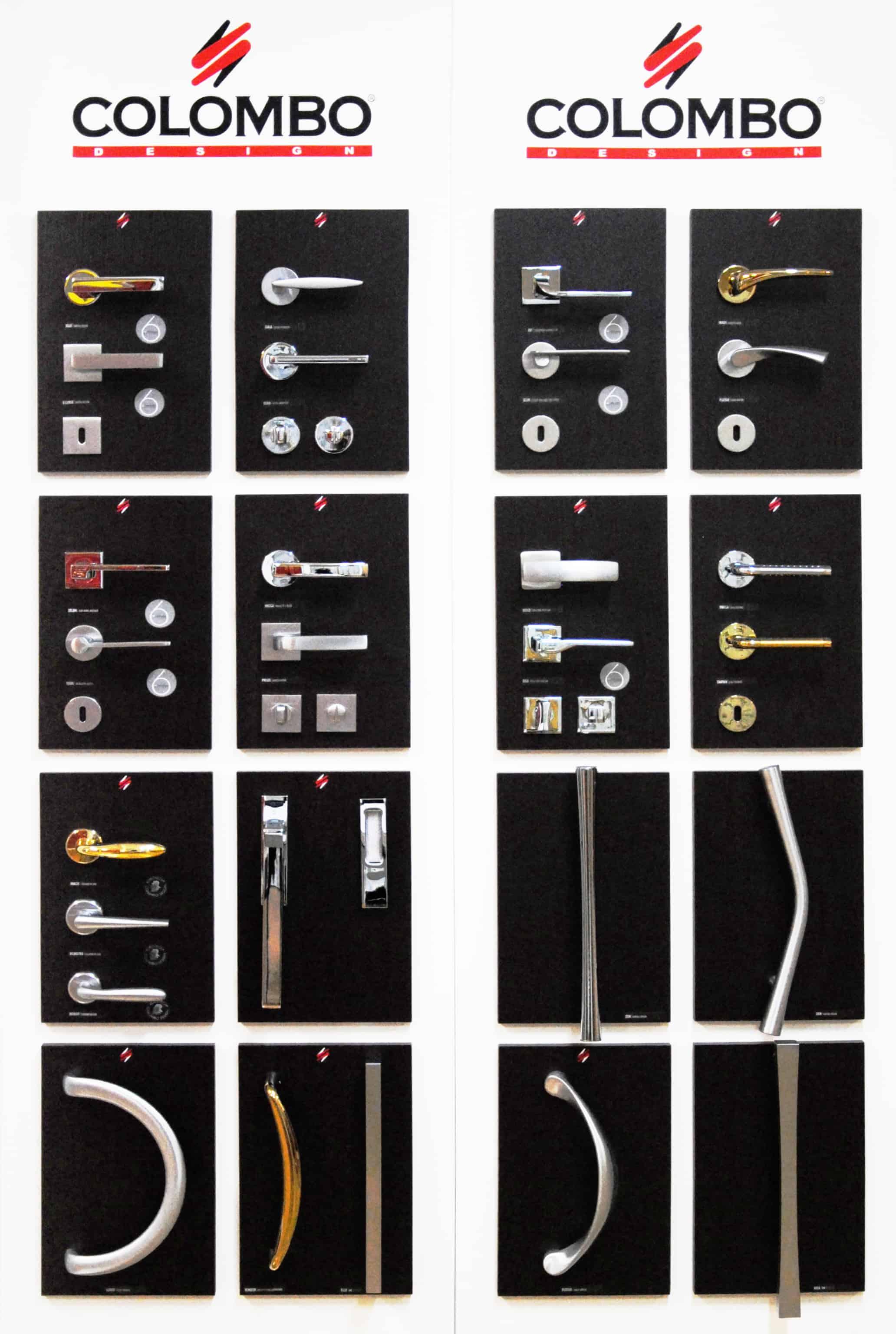Esposizione di maniglie tuttoferramenta blog for Colombo maniglie