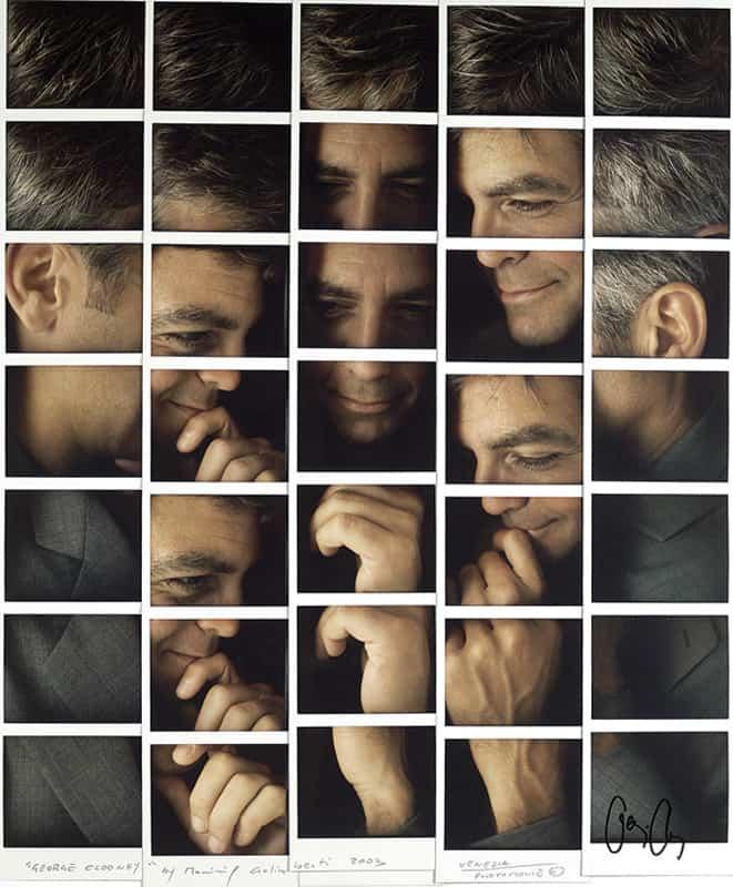 George-Clooney Benicio del Toro - foto Maurizio Galimberti