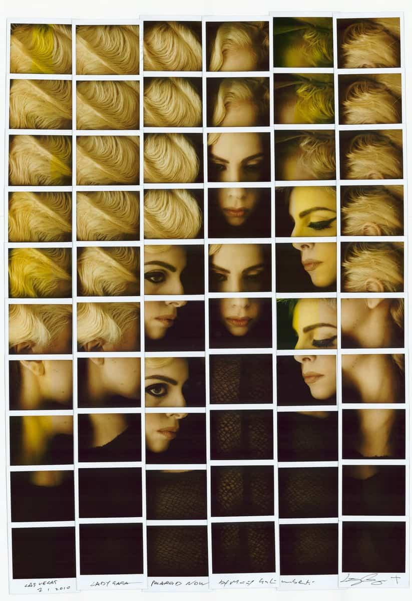 Lady-Gaga - foto Maurizio Galimberti