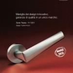 H 1051 Valli e Valli maniglie per porte e finestre