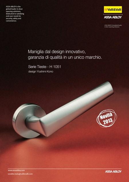 NEW: La nuova maniglia H 1051 Serie Tieste