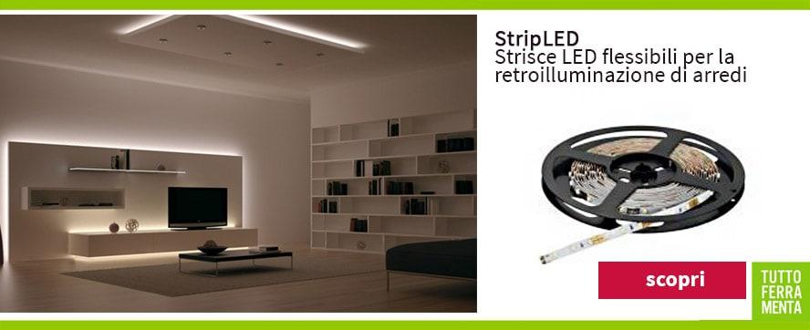 Illuminazione strisce led per interni dj92 pineglen - Striscia led cucina ...