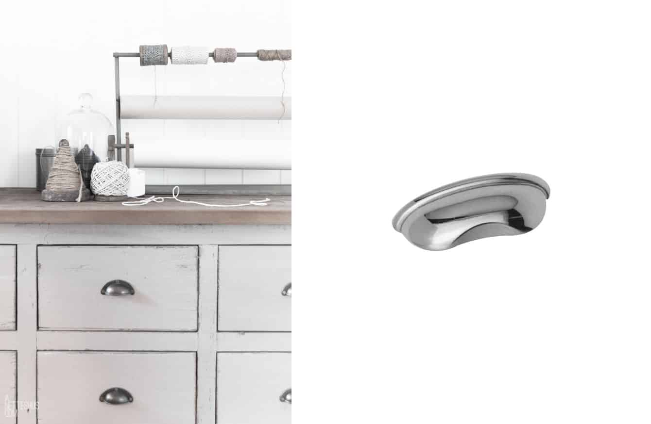 Pomelli unici per arredare casa in stile shabby chic - Pomelli per mobili cucina ...