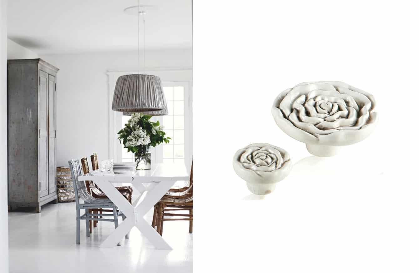Pomelli unici per arredare casa in stile shabby chic tuttoferramenta blog - Pomelli ceramica per cucina ...