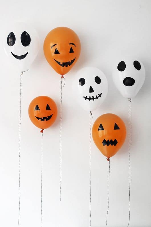 Idee per decorare una parete - Halloween