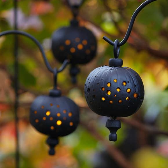 lanterna a forma di zucca per halloween