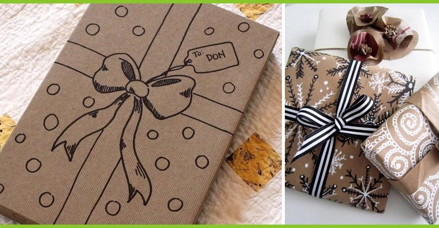 Pacchetti 5 idee per impacchettare i regali di natale - Pacchetti natalizi fai da te ...