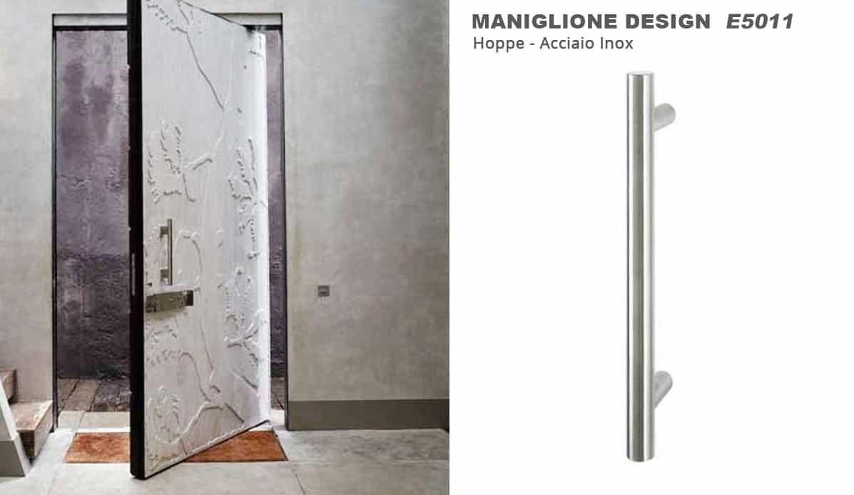 Maniglioni in acciaio inox hoppe la maniglia che arreda for Blog di design
