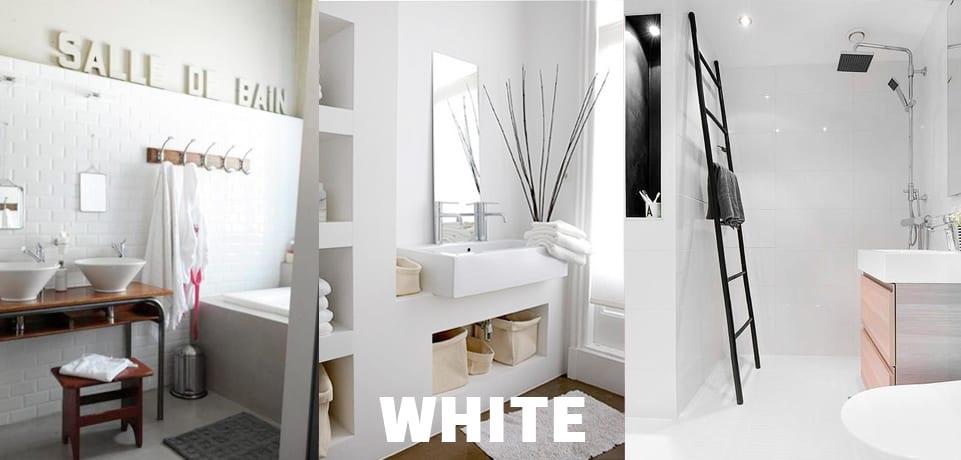 arredo bagno bianco classico