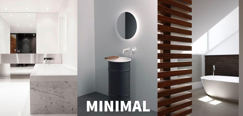 arredo bagno moderno minimal