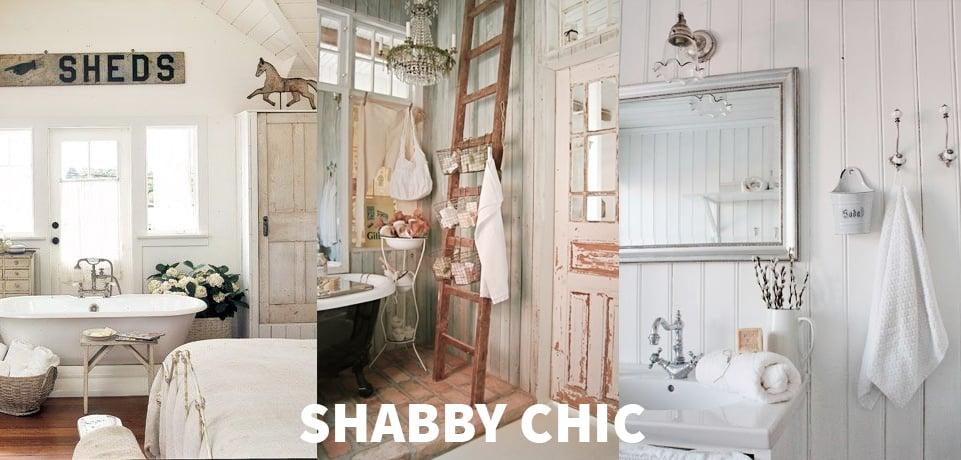 Trucchi e novit per arredare e progettare il tuo bagno for Shabby chic moderno