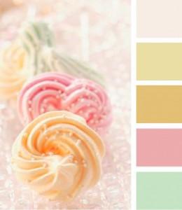 Colori pastello ispirazioni per bagno