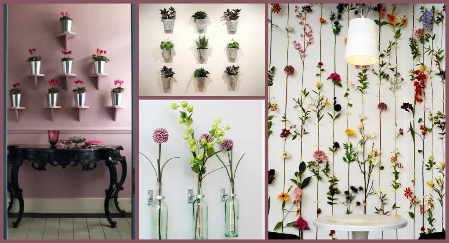 Diy 10 idee su come decorare una parete di casa - Decorazioni muro ...