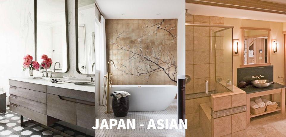 stile bagno japan asian