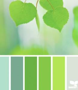 verde colori naturali ispirazione arredo bagno