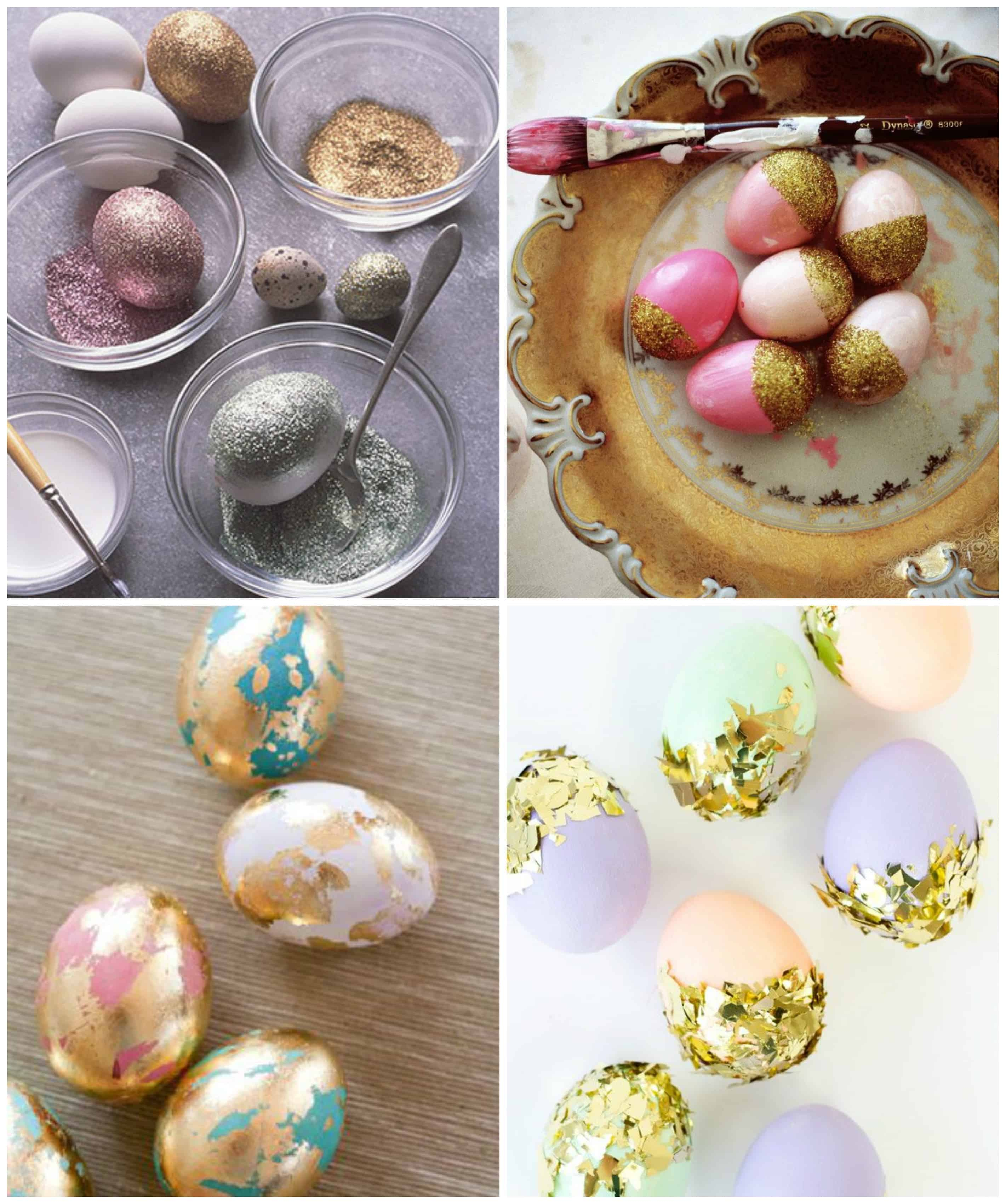 GLITTER DIY 10 MODI PER DECORARE LE UOVA DI PASQUA TUTTOFERRAMENTA.IT
