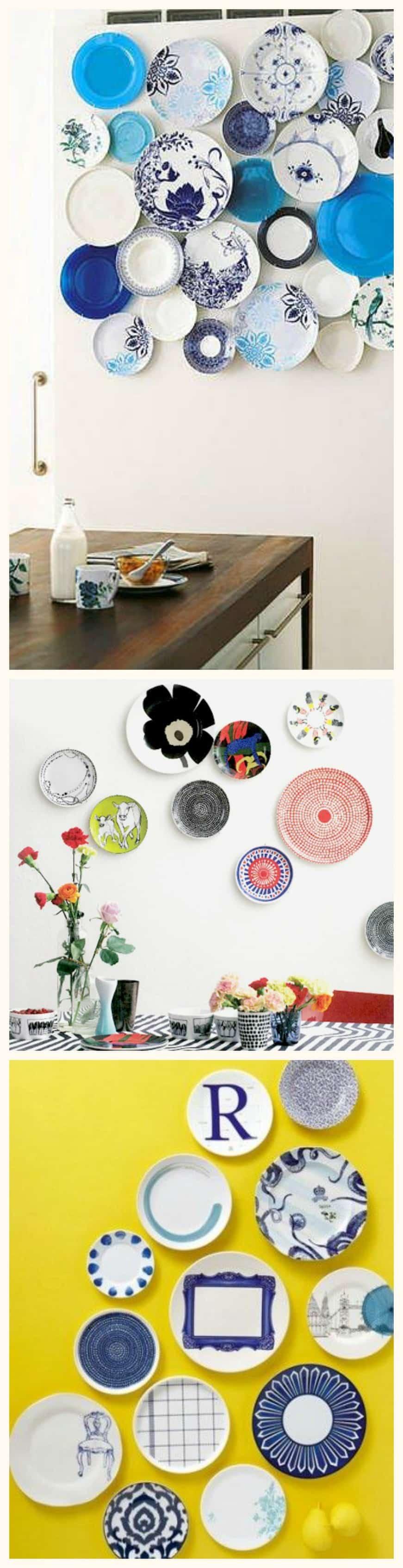 Diy 10 idee su come decorare una parete di casa - Piatti da cucina moderni ...
