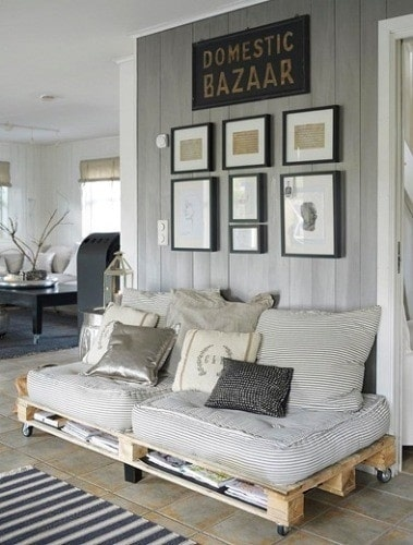 Pallet : 10 idee creative di fai da te per la casa ...