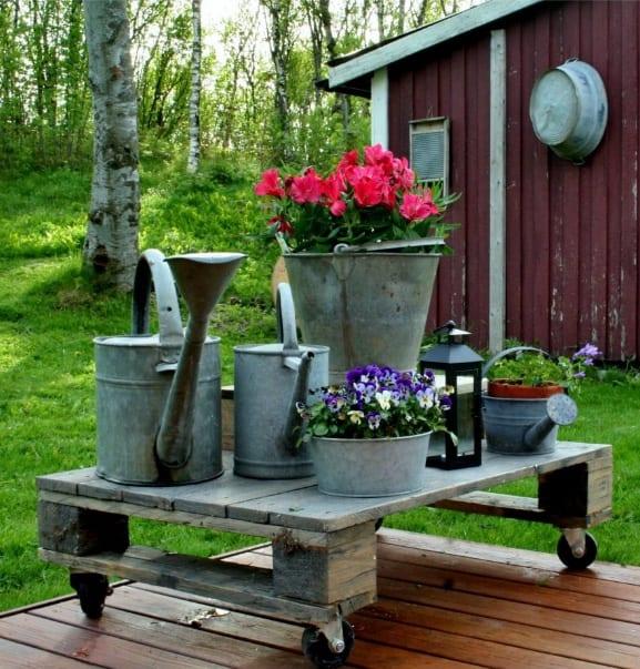 Pallet 10 idee creative fai da te per la casa for Bancali legno per arredare