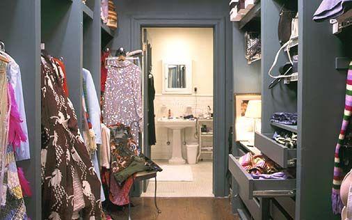 cabina armadio casa di Carrie Bradshaw