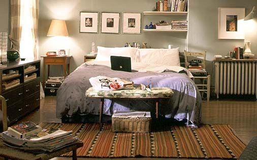 L\'appartamento di Carrie Bradshaw : idee per rinnovare casa in stile ...