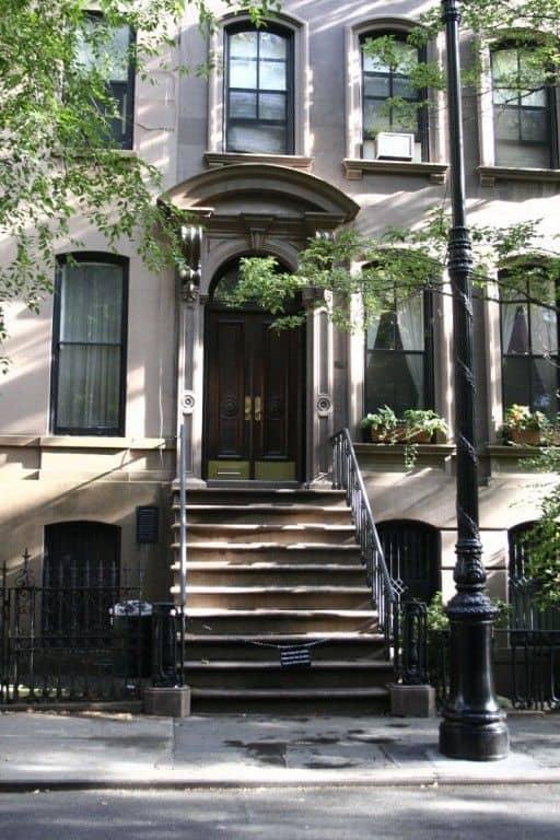 new york appartamento di Carrie Bradshaw sex and the city