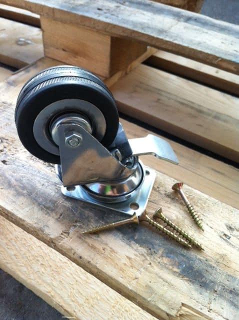 ruota per pallet tuttoferramenta ruote con freno