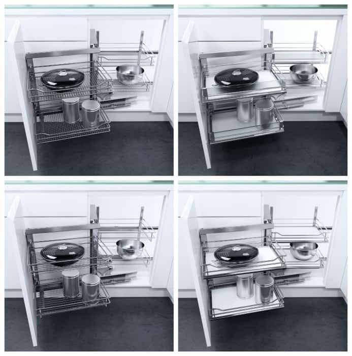 Ferramenta per mobili da cucina ad angolo vauth sagel di - Mobili per angoli ...