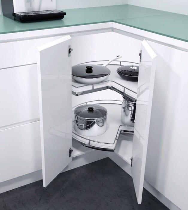 Ferramenta per mobili da cucina ad angolo : Vauth Sagel di Hafele ...