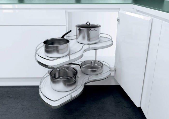ferramenta per mobili da cucina ad angolo vauth sagel di hafele