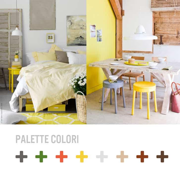 Trend casa idee per arredare con il colore giallo - Idee per imbiancare casa ...