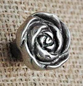 Pomello a forma di Rosa per mobili - Giara