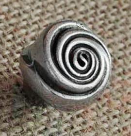 Pomello decorativo a forma di Rosa - Giara