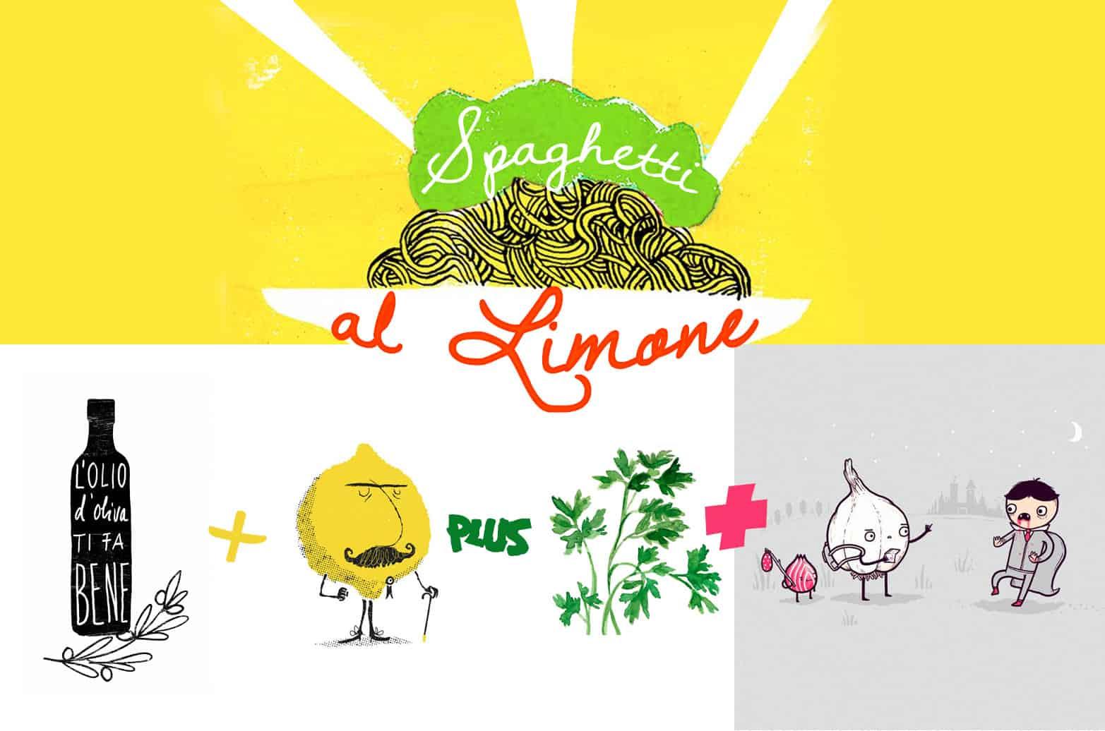Spaghetti al limone - ricetta veloce by Tuttoferramenta