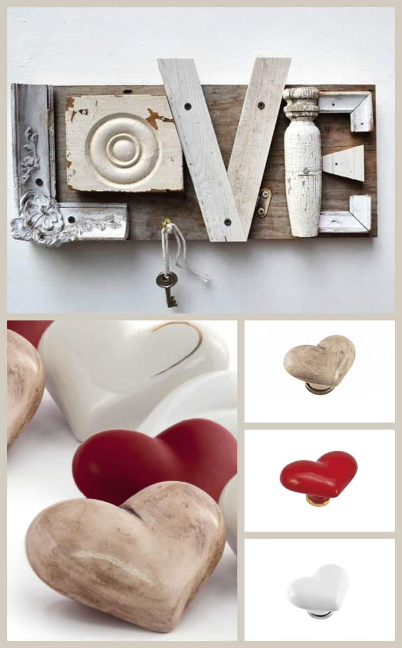 Pomelli in ceramica per mobili idee per decorare la casa shabby chic - Idee shabby chic per la casa ...