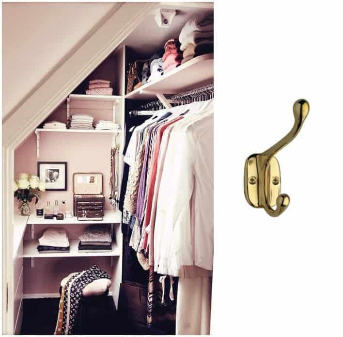 12 ganci portabiti da parete di design a partire da 3 tuttoferramenta blog - Carrello porta abiti ikea ...