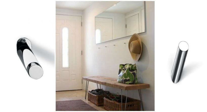 gancetti appendiabiti per ingresso casa moderna e bagno ganci di design