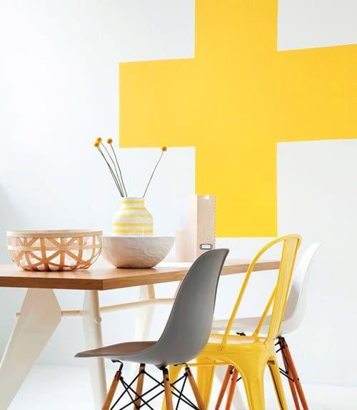 trend casa : idee per arredare con il colore giallo ... - Arredamento Colori Pareti Casa
