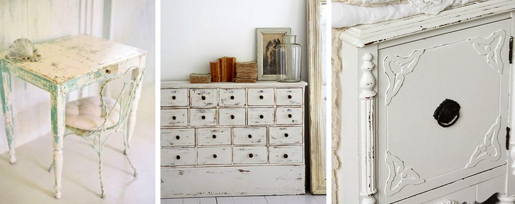 Pomelli shabby chic per mobili dal sapore vintage - Mobili country chic ...