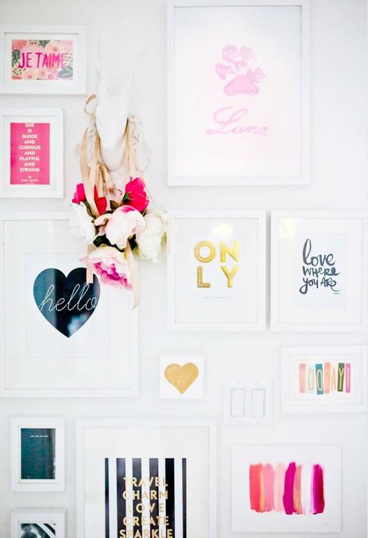 Decorare Una Parete Con Una Scritta Pictures to pin on Pinterest