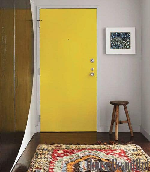 ... porte solo se queste sono su pareti, bianche, grigie, nere o gialle