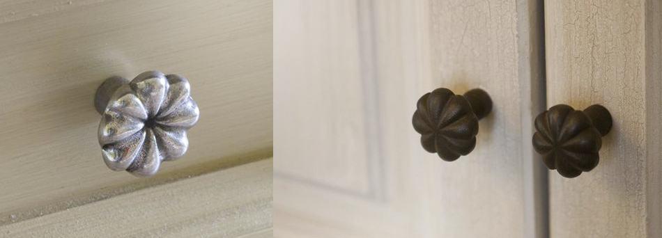pomello a forma di fiore Dalia - Giara Design