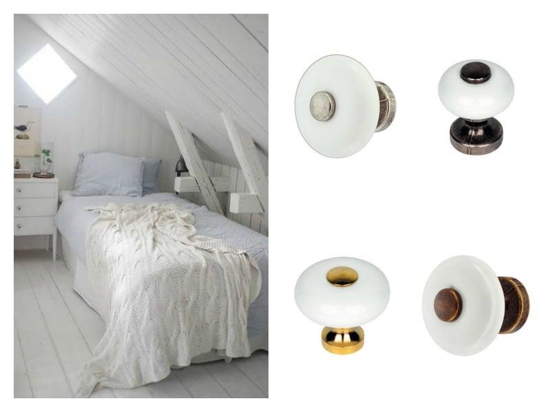 pomoli in porcellana stile classico shabby chic per mobile camera da letto stile antico