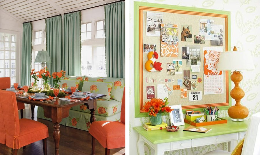 Orange is the new black idee creative per arredare - Arredamento casa stile provenzale ...