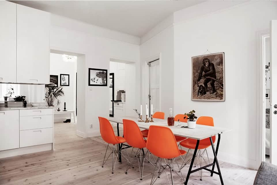 Orange is the new black idee creative per arredare - Idee per arredare casa classica ...