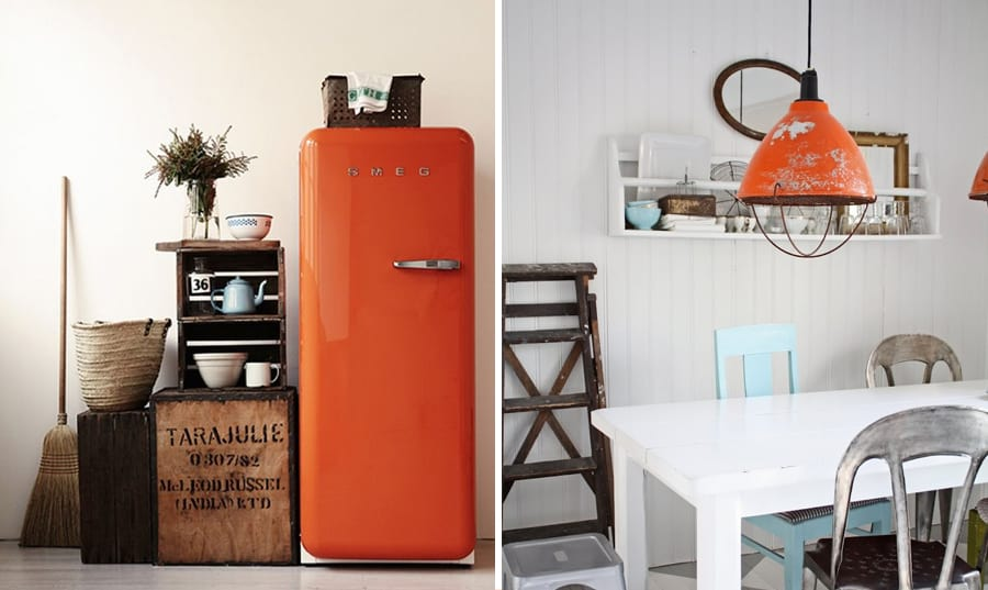 Orange is the new black idee creative per arredare - Idee arredo cucina ...
