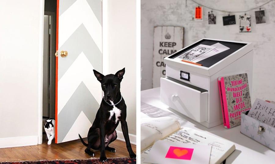 orange is the new black : idee creative per arredare ... - Idee Camera Da Letto Ragazza
