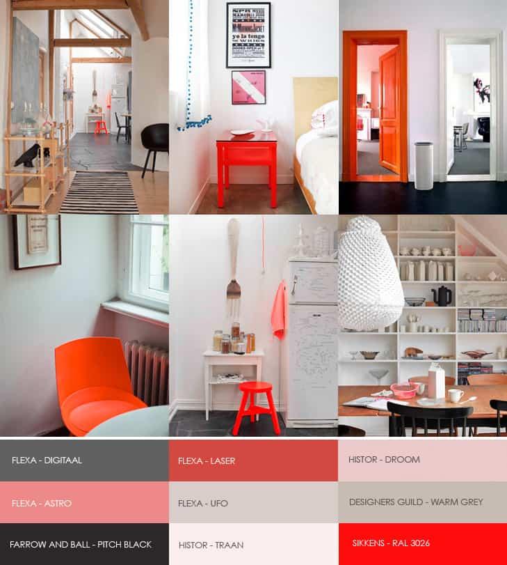 hot orange - colori di tendenza